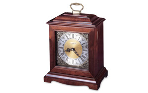 Cherry Mantle Clock