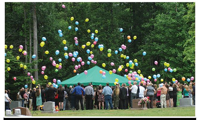 Storke Balloon Release
